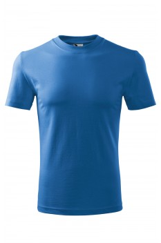 Tricou unisex, bumbac 100%, Malfini Heavy, albastru azur
