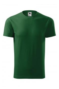 Tricou unisex, bumbac 100%, Malfini Element, verde sticla