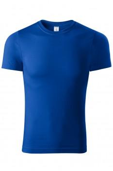 Tricou unisex, bumbac 100%, Piccolio Peak, albastru regal