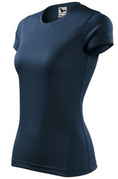 Tricou femei, poliester 100%, Malfini Fantasy, albastru marin