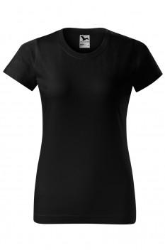 Tricou femei, bumbac 100%, Malfini Basic, negru
