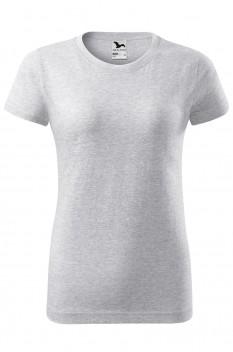 Tricou femei Malfini Basic, gri deschis