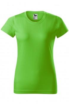 Tricou femei, bumbac 100%, Malfini Basic, verde mar