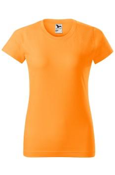Tricou femei, bumbac 100%, Malfini Basic, tangerine orange