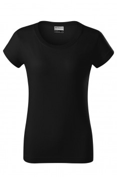 Tricou femei, bumbac 100%, Rimeck Resist Heavy, negru