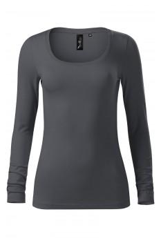 Tricou femei, Malfini Premium Brave, antracit deschis