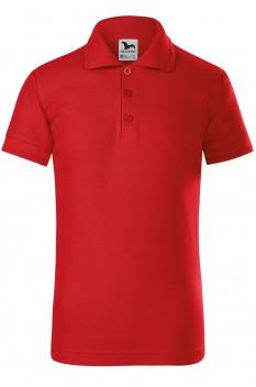 Tricou polo pentru copii Malfini Pique, rosu