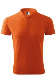 Tricou polo barbati Malfini Pique, portocaliu