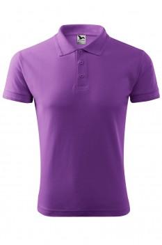 Tricou polo barbati Malfini Pique, violet
