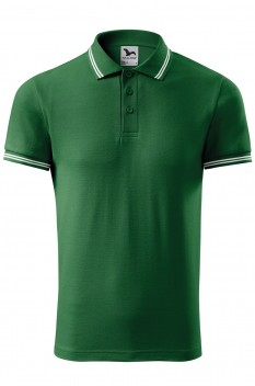Tricou polo pentru barbati Malfini Urban, verde sticla
