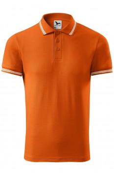Tricou polo barbati Malfini Urban, portocaliu