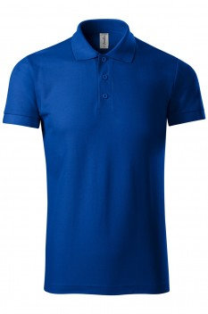 Tricou polo barbati Piccolio Joy, albastru regal
