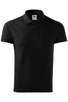 Tricou polo pentru barbati Malfini Cotton Heavy, negru
