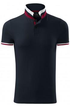 Tricou polo pentru barbati Malfini Premium Collar Up, dark navy