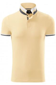 Tricou polo barbati, bumbac 100%, Malfini Premium Collar Up, bourbon vanilla