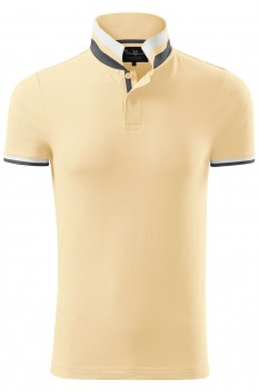 Tricou polo barbati Malfini Premium Collar Up, bourbon vanilla
