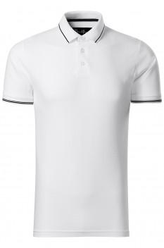 Tricou polo pentru barbati Malfini Premium Perfection Plain, alb