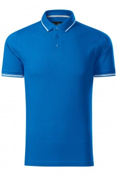 Tricou polo barbati Malfini Premium Perfection Plain, snorkel blue