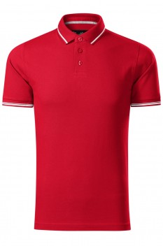 Tricou polo barbati Malfini Premium Perfection Plain, formula red